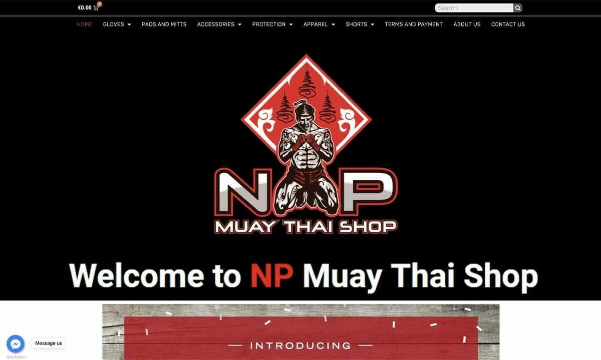 เว็บไซต์ wordpress npmuaythaishop