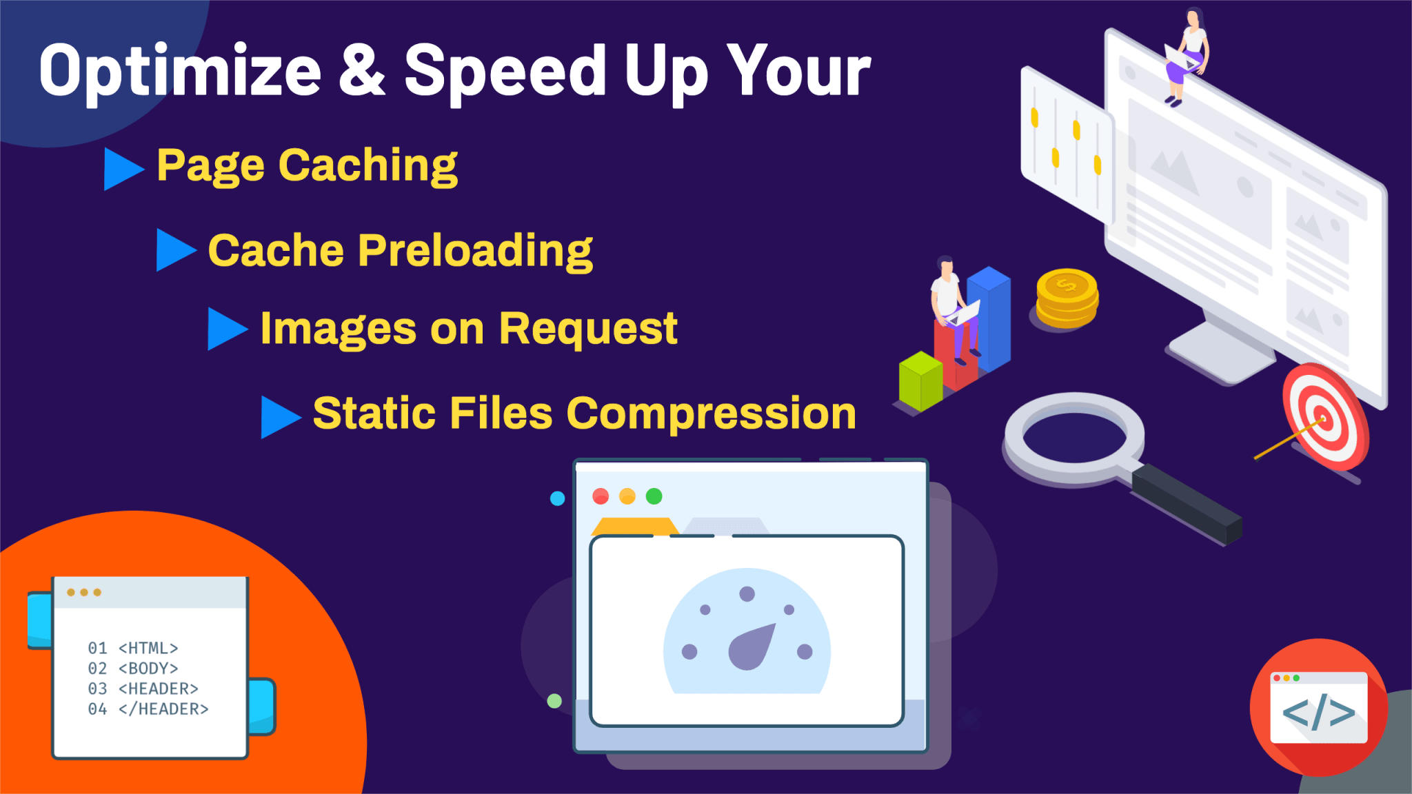 Optimize & Speed Up Your Website - 1280 x 720 px (1)
